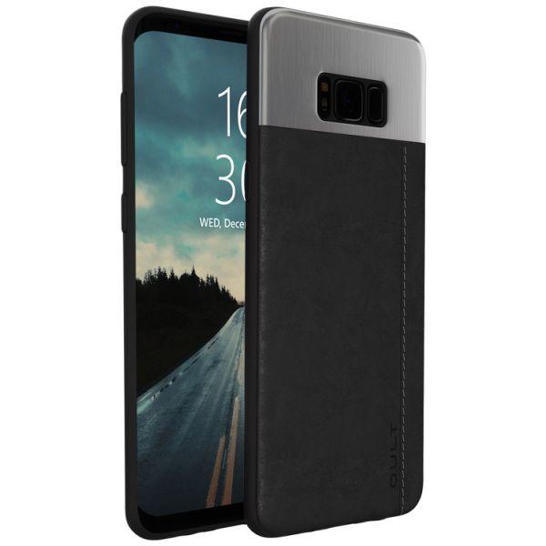 """Qult Back Case """"Slate"""" schwarz für Samsung G950 S8"""